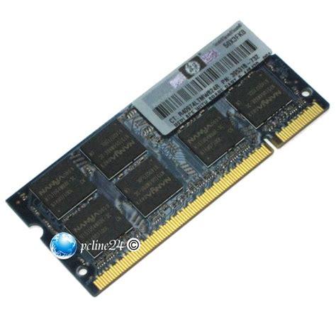 Nanya 1gb Sodimm Ddr2 Pc 5300 667 Mhz hp so dimm 1gb pc2 5300 2rx8 200 pin ddr2 667mhz 395318
