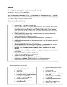 Web Product Manager Sle Resume by Resume Of Lonnie Mcrorey International Sales Marketing Product Manag
