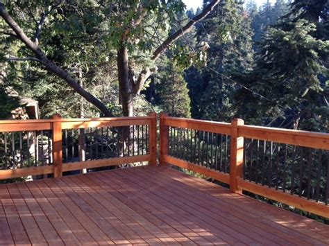 wrap around deck ideas two story wrap around deck with custom design railings