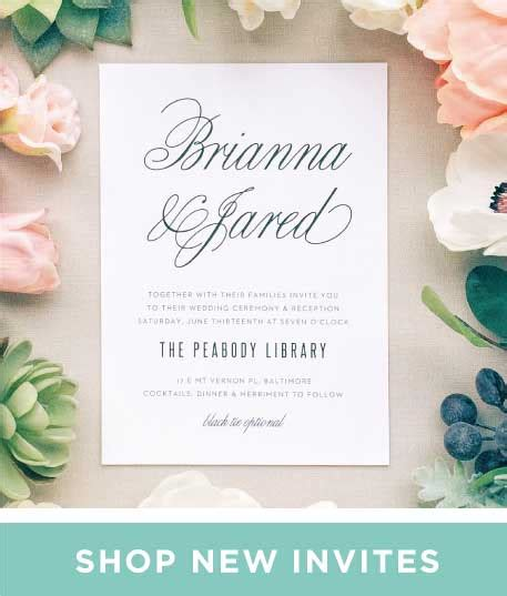 Wedding Announcement Letter by Invitations Announcements And Photo Cards Basic Invite