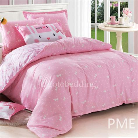 affordable bedding affordable cute baby pink patterned kids bedding sets for