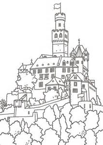 castles in germany coloring pages coloring pages