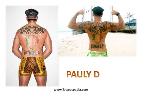 pauly d tattoos pauly d tribal 2