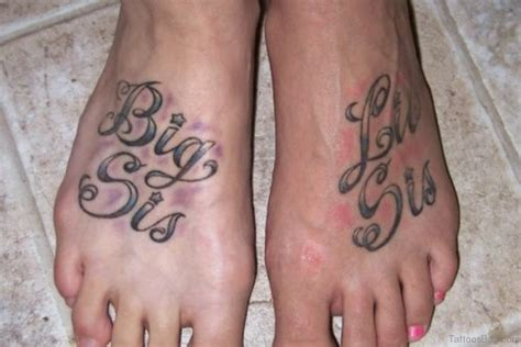 big sister little sister tattoo 19 sweet tattoos on foot