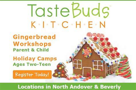 Taste Buds Kitchen Andover by Gingerbread House Workshop At Taste Buds Kitchen
