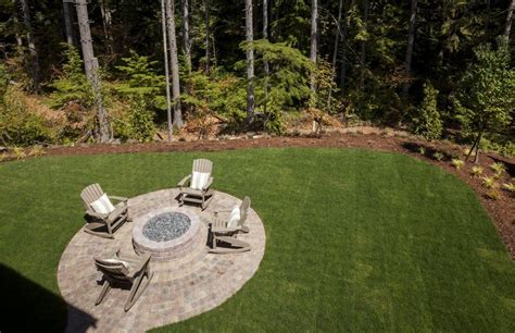 rumblestone pit traditional patio with pathway pit zillow digs