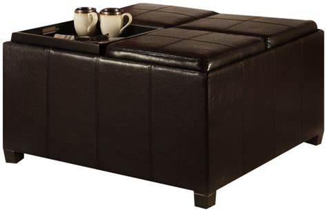 Large Coffee Table Trays Gorgeous Large Ottoman Coffee Table On Ottoman Coffee Table Tray Coffee Table Ottoman With