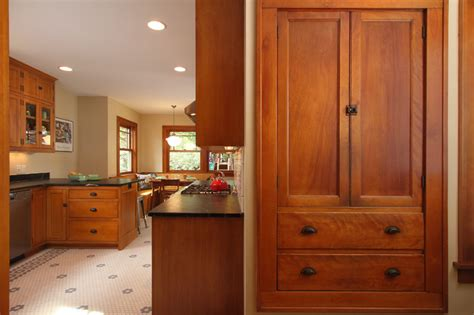 mission style kitchen cabinet hardware minneapolis bungalow craftsman kitchen minneapolis