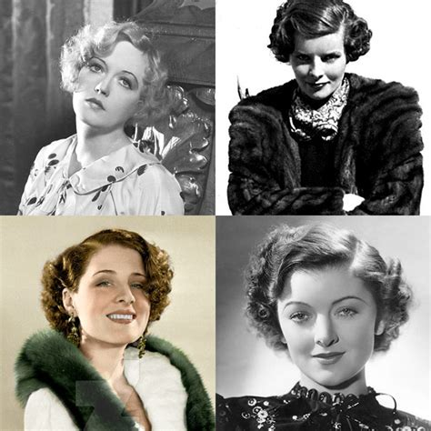 short womens haircuts of the thirties and forties the perfect vintage haircut vintage gal