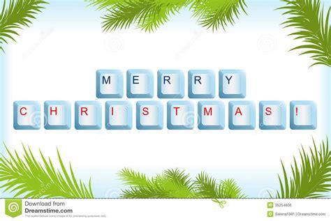 christmas tree keyboard symbol christmas lights decoration
