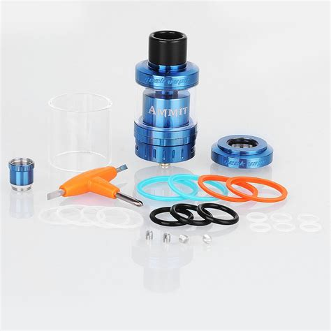 Geekvape Ammit Rta Atomizer Tank authentic geekvape ammit 25 rta blue 5ml rebuildable atomizer