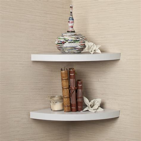 seize every corner small room with wall mount shelf home