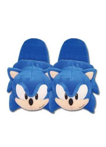sonic slippers sonic the hedgehog slippers cool stuff to buy and collect