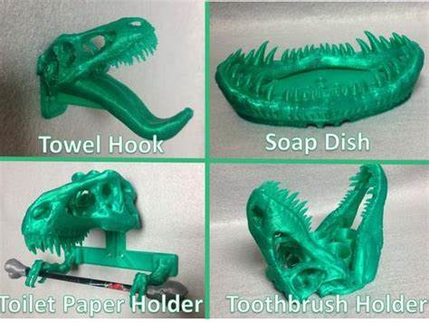How To Make A Toothbrush Out Of Paper - 3d designers submit some t rex remix designs