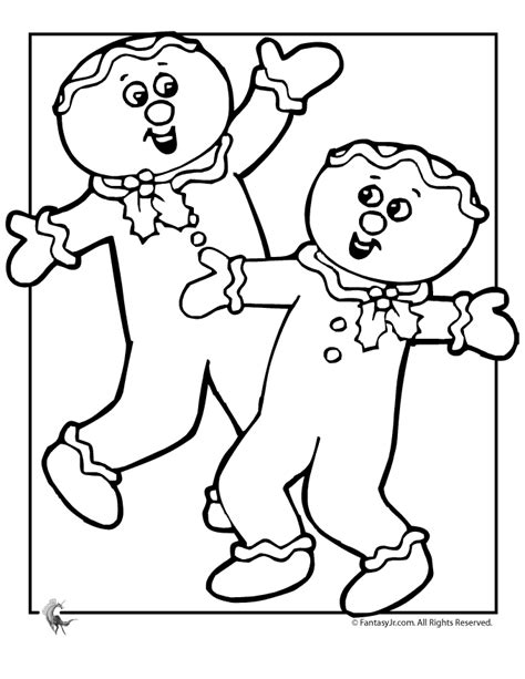 boy christmas coloring page gingerbread boy coloring page az coloring pages