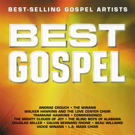 best gospel best gospel best selling gospel artists by various