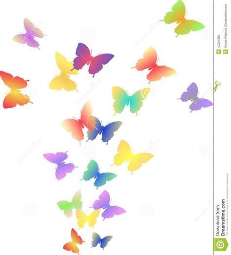 imagenes de mariposas en vuelo illustration du vol des papillons color 233 s illustration