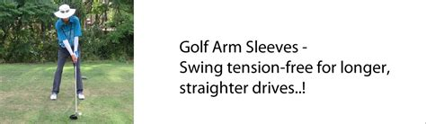 tension free golf swing golf arms sleeves uvoider uv compression arm sleeves upf 50