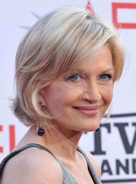 short hairstyles after 50 diane sawyer short bob haircut diane sawyer short bobs