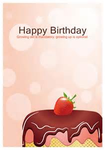 Free Templates For Birthday Cards by 40 Free Birthday Card Templates Template Lab