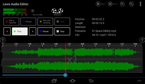 mp3editor apk lexis audio editor android apps on play