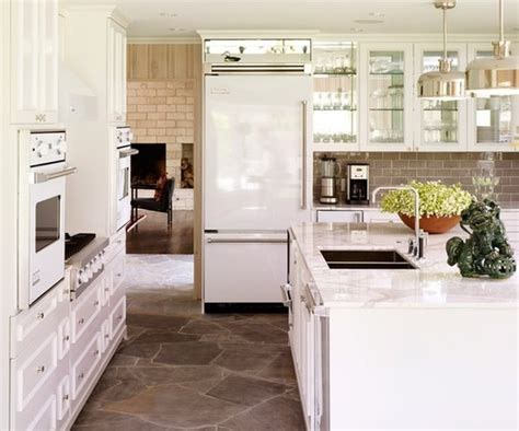 White Appliance Kitchen | tiffany leigh interior design defending white appliances