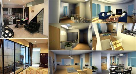 contoh desain interior rumah minimalis creo house contoh