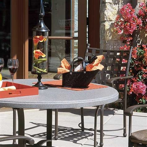 faux granite table tops patio table and outdoor table tops