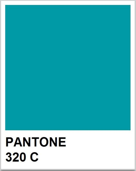 pantone c pantone 320c blue green color block
