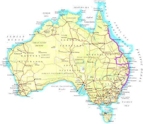map of eastern australia puzzle postcards journey jottings inside map of eastern
