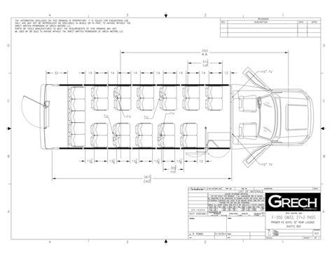Mercedes Sprinter Floor Plan by Gm33 F550 Shuttle Bus Black Floor Plan