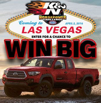 Truck Giveaway Sweepstakes - truck giveaway win a toyota tacoma sun sweeps