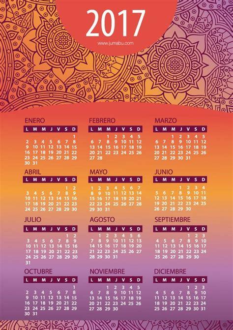 calendario 2017 para imprimir gratis m 225 s de 25 ideas incre 237 bles sobre calendario en pinterest