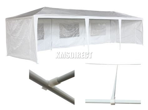 marquee awning new waterproof 3m x 9m pe outdoor garden gazebo party tent