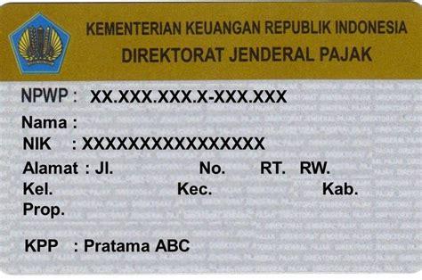 membuat npwp cara persyaratan dan cara membuat npwp jurnal media indonesia