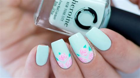 Basic Nail Designs by Easy Nail For Beginners Basic Design