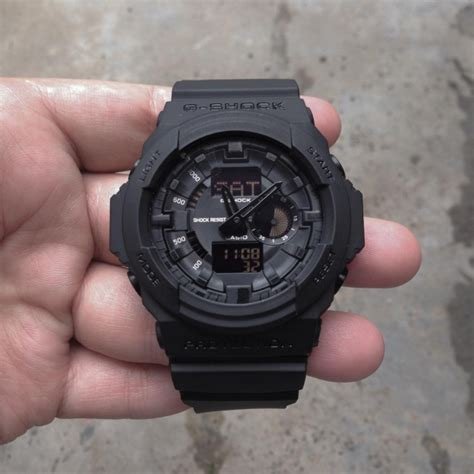 G Shock Ga 150 Black casio g shock ga 150 review