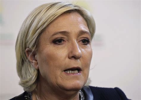 marine le pen france far right leader marine le pen says syria dictator bashar assad quot most reassuring solution