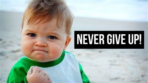 Is Giving Up Baby by 7 Things To Do When You Want To Give Up