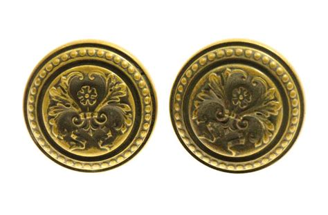 Italian Door Knobs by Italian Renaissance Bronze Knob Set Olde Things