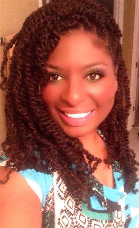 puffy afro twist on natural using nafy afro puffy
