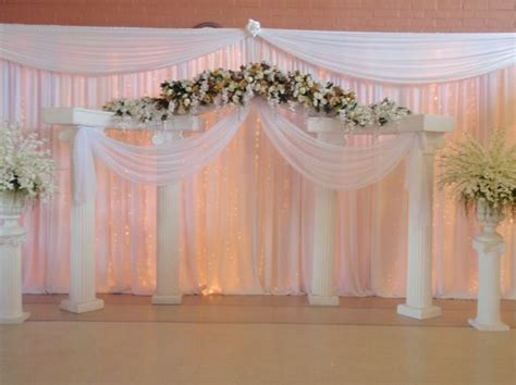 Wedding Background Decorations by Wedding Backdrop Decoration Ideas Images Wedding