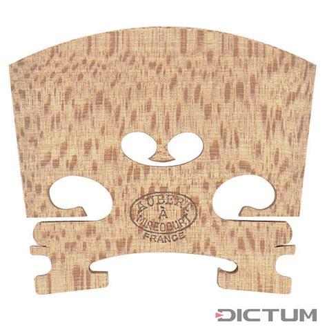 Aubert Bridge Luxe No 8 Violin 44 ponticello aubert mirecourt n 7 inarcato grezzo violino 4 4 41 5 mm aubert dictum