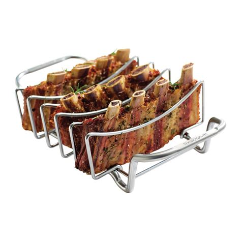 Vertical Rib Rack by Barbecue Rib Rack Rona
