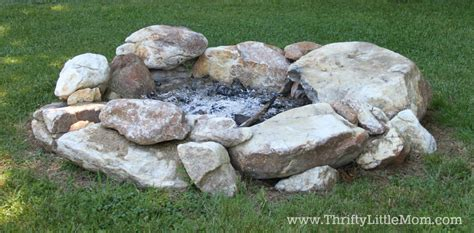 how to build a backyard firepit build your own backyard pit using free materials