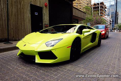 Lamborghini Edmonton Lamborghini Aventador Spotted In Edmonton Canada On 05 23