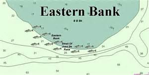 bank fishing map eastern bank salmon fishing map squidpro tackle s salmon