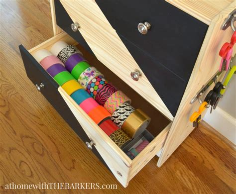 ikea craft cart rolling craft cart ikea rast hack at home with the barkers