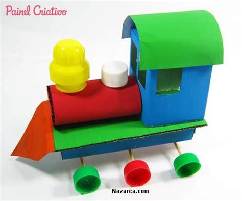 Yasma Fanta k 220 199 220 k kutu ve kapaklardan oyuncak karton tren yapili蝙i