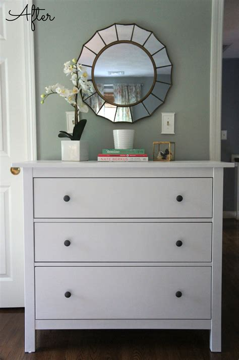 white bedroom dresser with mirror home with baxter ikea hemnes dresser guest bedroom update